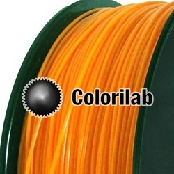 PLA 3D printer filament 1.75mm close to orange 715 C