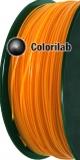 PLA 3D printer filament 3.00mm close to orange 715 C