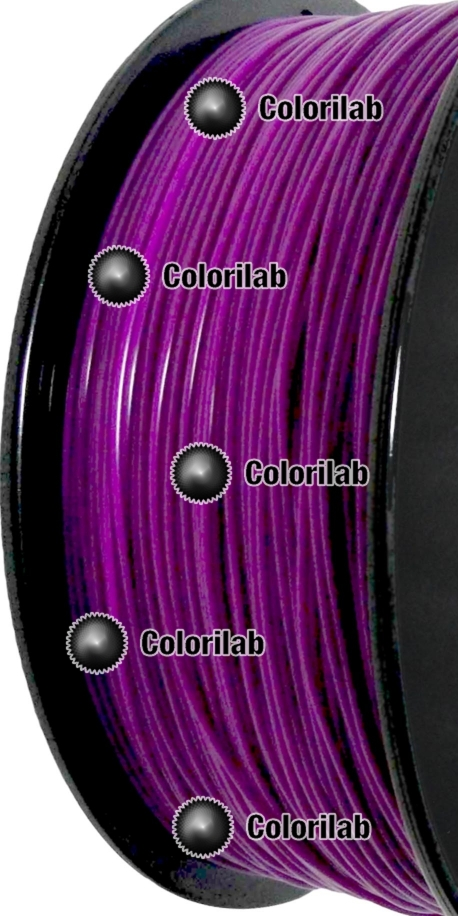 Filament d'imprimante 3D PLA 1.75 mm mauve 2355C