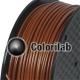 PLA 3D printer filament 1.75 mm coffee 7567C