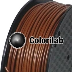 PLA 3D printer filament 1.75 mm close to coffee 7567 C