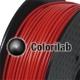 PLA 3D printer filament 1.75 mm dark red 7598C