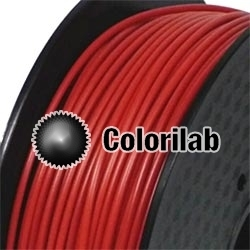 ABS 3D printer filament 1.75 mm dark red 7598C
