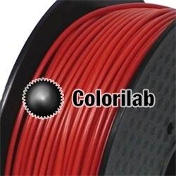 Filament d'imprimante 3D 3.00 mm ABS rouge foncé 7598C
