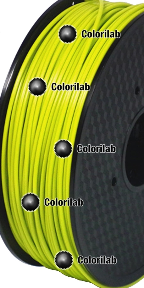 Filament d'imprimante 3D 1.75 mm PLA vert pâle 396C