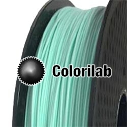 PLA 3D printer filament 3.00 mm pastel green 0921C