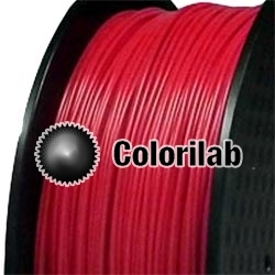 Filament d'imprimante 3D PLA 1.75 mm rouge 485C