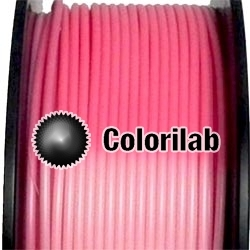 PLA 3D printer filament 2.85 mm thermal changing pink natural