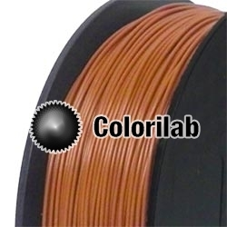 Filament d'imprimante 3D 2.85 mm PLA brun 7516C