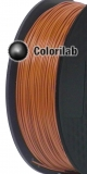 PLA 3D printer filament 2.85 mm brown 7516C