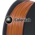 PLA 3D printer filament 3.00 mm brown 7516C