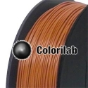 ABS 3D printer filament 2.85 mm brown 7516C