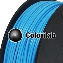 PLA 3D printer filament 3.00 mm close to blue 2995 C