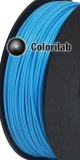 ABS 3D printer filament 2.85 mm close to pale blue 2995 C