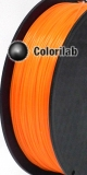 ABS 3D printer filament 2.85 mm fluo orange 716C