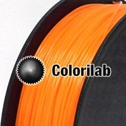 ABS 3D printer filament 3.00 mm fluo orange 716C