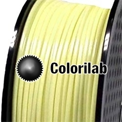 PLA 3D printer filament 1.75 mm pastel yellow 0131C