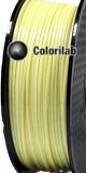 Filament d'imprimante 3D 2.85 mm PLA jaune pastel 0131C