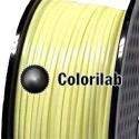 PLA 3D printer filament 3.00 mm pastel yellow 0131C