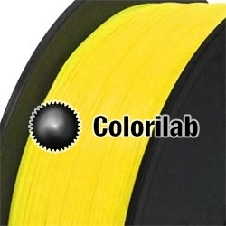 Filament d'imprimante 3D 1.75 mm PA jaune 116 C