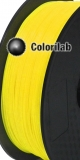 Filament d'imprimante 3D 2.85 mm ABS jaune 012 C