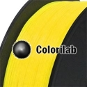 Filament d'imprimante 3D 3.00 mm PETG jaune Yellow C