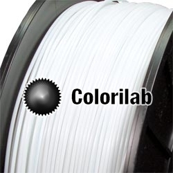 Filament d'imprimante 3D 1.75 mm PLA blanc