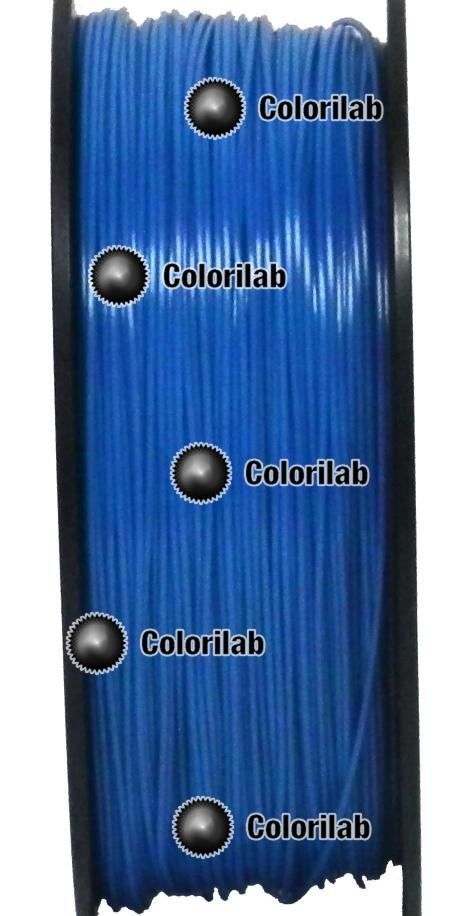 ABS 3D printer filament 1.75 mm blue 2145C