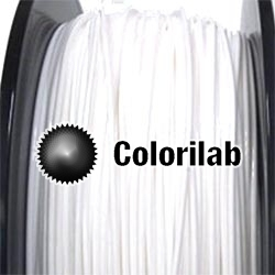 Filament d'imprimante 3D 1.75 mm PETG blanc