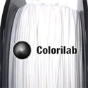 Filament d'imprimante 3D 3.00 mm PLA-Flex blanc