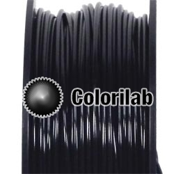 Filament d'imprimante 3D 3.00 mm PLA-Flex noir