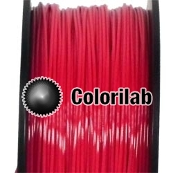 Filament d'imprimante 3D 3.00 mm PETG rouge 2035C