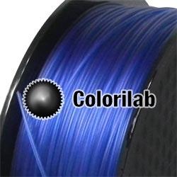 Filament d'imprimante 3D PETG 1.75 mm bleu translucide