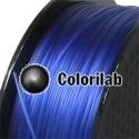 Filament d'imprimante 3D PETG 3.00 mm bleu translucide