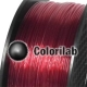 PETG 3D printer filament 1.75 mm translucent red