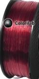 Filament d'imprimante 3D PETG 3.00 mm rouge translucide