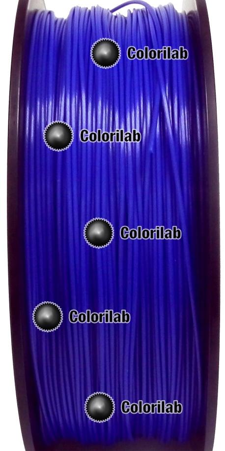 Filament d'imprimante 3D TPE80A 3.00 mm bleu 2145C