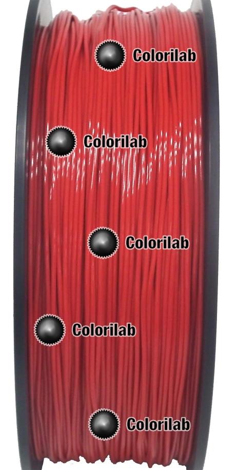 Filament d'imprimante 3D TPE80A 1.75 mm rouge 186C