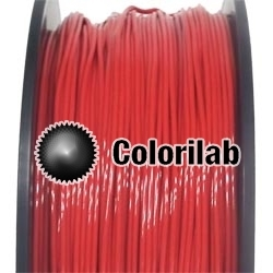 Filament d'imprimante 3D TPE80A 3.00 mm rouge 186C