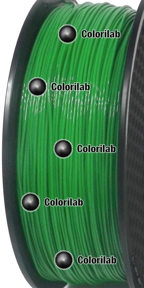 Filament d'imprimante 3D 1.75 mm TPU 90A vert foncé 2272C