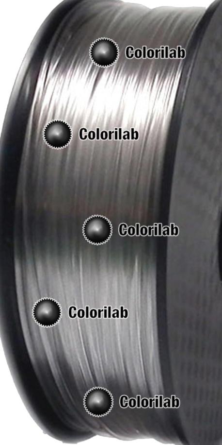 Filament d'imprimante 3D 1.75 mm PETG naturel clair