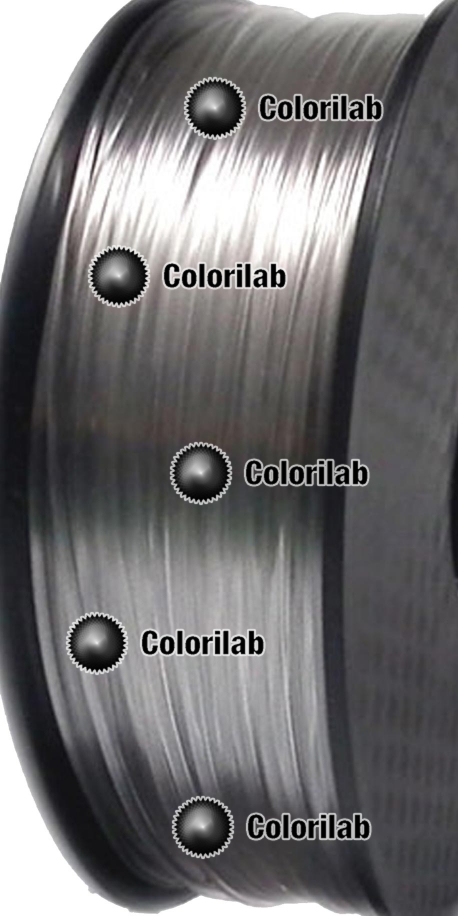 PC 3d printer filament 1 75 mm clear transparent