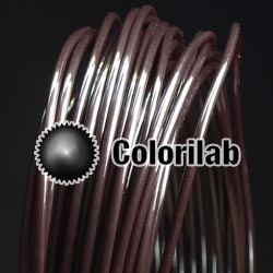 PP 3D printer filament 1.75 mm close to coffee brown 4975 C