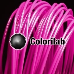ABS 3D printer filament 1.75 mm dark pink 233C