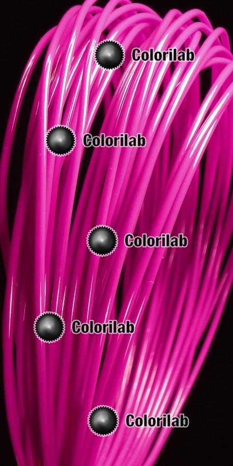 ABS 3D printer filament 1.75 mm dark pink 233C
