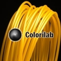 ABS 3D printer filament 1.75 mm gold 10123C