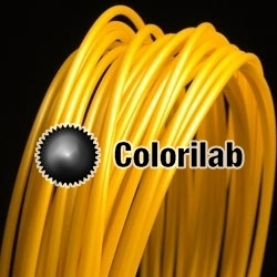 ABS 3D printer filament 3.00 mm close to gold 10123 C