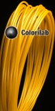 HIPS 3D printer filament 3.00 mm gold 10123C