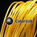 PLA 3D printer filament 1.75 mm gold 10123C