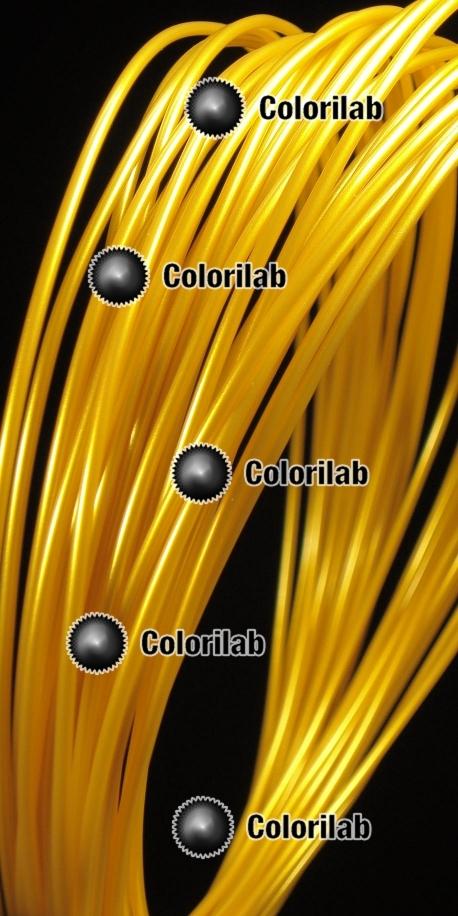 Filament d'imprimante 3D PLA 1.75 mm doré or 10123C